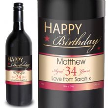 Happy Birthday Red Wine